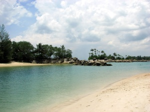 Singapur - ostrov Sentosa